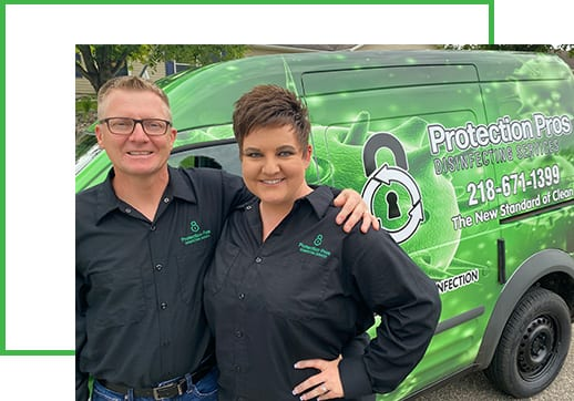 Protection Pros staff and vehicle