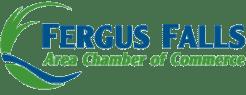 Fergus Falls Chamber of Commerce member badge