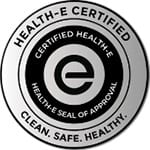 ISSA Certified Health-E course for Disinfection Solutions for Infection Protection and Control badge