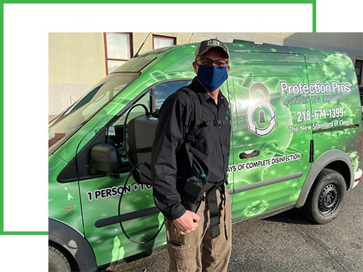 Protection Pros staff member