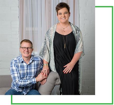 Erin and Randy Halvorson